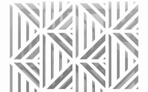 deco perforated pattern design