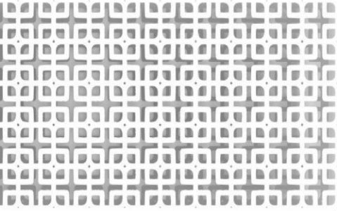 trellis perforated pattern design